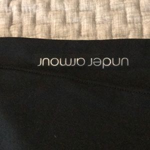 Under Armor yoga pants, worn once